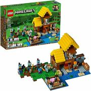 Lego Minecraft 21144 The Farm Cottage - Authentic Factory Sealed Brand New