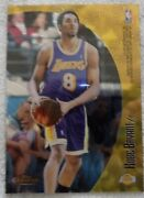 1999 Topps Koby Bryant And Tim Duncan Basketball Card M38 Holochrome