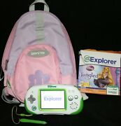 Leap Frog Explorer Console With Tangled Game