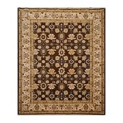 8and0396 X 11and0396 Authentic Karastan English Manor 100 Wool Area Rug Brown Us Made