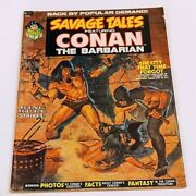 Savage Tales Featuring Conan The Barbarian 2 Oct 1973, Marvel