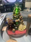 Rare Vintage Disney Beauty And The Beast Christmas Tree Statue Music And Lights 8andrdquo