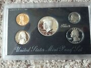 1994 United States Mint Silver Proof Set W/ Original Box And Coa. 5 Great Coins