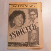 Daily News October 8 1987 Bess Myerson Carl Capasso Indicted M8