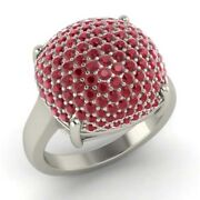 2.50 Ct Real Ruby Engagement Womenand039s Rings Solid 950 Platinum Band Size 6 7 8 9