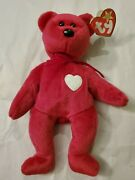 Ty Beanie Baby Valentina Style 4233 - Collectible With Manufacturing Errors