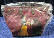 Disney Designer Fairytale Doll Collection Snow White And Hag Witch Totebag New
