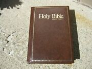 Holy Bible Giant Print Hc Kjv References Concordance Words Christ Red