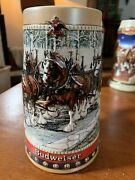 Budweiser Holiday Beer Steins - Lot Of 10 W/ 2017 75th Anniversary Edition