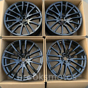 20 New Gloss Black Staggered Style Wheels Rims Fit Bmw 2017+ X3 2018+ X4 5x112