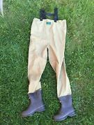 Excellent Condition Redington Breathable Boot Foot Waders-- Medium Size 8