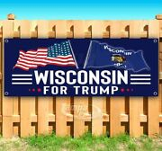 Wisconsin For Trump 2020 Advertising Vinyl Banner Flag Sign Election