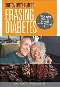 Bottom Lineand039s Guide To Erasing Diabetes Drug-free Ways To Prevent Even...