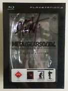 Metal Gear Solid 4 Guns Of Patriots Limited Edition Ps3 Kojima Signed Rare New