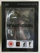 Metal Gear Solid 4 Guns Of Patriots Limited Edition Ps3 Factory Sealed Rare Uk