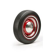 215/75r15 Premium Auburn Tire With White Red T-bird - Modified Sidewall 1 Tire