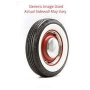 600r16 Deluxe Auburn Tire With 2.75 White Wall - Modified Sidewall 1 Tire