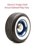 225/70r14 Streetsteel Milestar Tire With 2.75 White Wall - Modified Sidewall 1