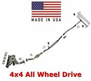 Exhaust System Converters 4x4 All Wheel Drive For Jeep Patriot 07-11 2.4l Engine