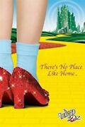 Wizard Of Oz Movie Threeand039s No Place Like Home Ruby Shoes 36x24 Movie Posters