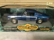 1968 Mustang Cobra Jet Ertl Collectables American Muscle Cars New In Box