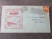 Uss Saury Us Navy Submarine Launched 1938 Original Ww2 Fdc First Day Cover