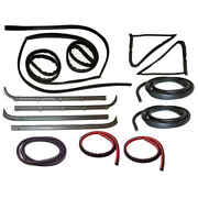 Window Channel And Felt Sweep Belt And Door Seal Kit For 80-83 Ford Pickup Truck