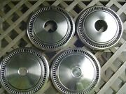 15 In 4+4 Vintage Pickup Truck Power Wagan Dodge Chrysler Plymouth Hubcaps Mopar