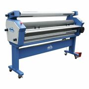 63in Full-auto Wide Format Cold Laminator Heat Assisted Laminating Machine