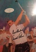 Sports Illustrated -us Open Golf Arnold Palmer Rare Double Cover 6/15/64 -signed
