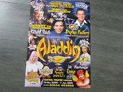 Stephen Mulhern And Richard Walsh In Aladdin 2000 Central Theatre Chatham Poster