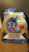 Sonic The Hedgehog Metal Sonic With Trap Spring 4 Sonic Figure New Free Ship