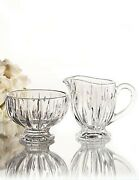 Marquis By Waterford Sheridan Sugar And Creamer Crystal Set New In Box