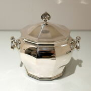 Victorian Sterling Silver Biscuit Box London 1900 William Hutton And Sons Ltd