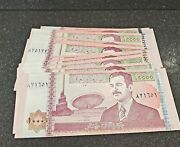 Central Bank Of Iraqandnbspnote 82 Notes X 10000 = 820000 Sequential