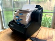 Never Used Mint Vintage Rolodex 1753 Roll Top Office Address Phone Index Cards