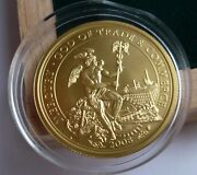 2008 Cook Islands Mercury God Of Trade And Commerce Gold Coin Coa Box