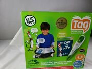 Leapfrog Tag Reading System Cat In The Hat Green Touch Reader Pls Read