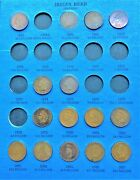 Coins From 1857-1909 Flying Eagle Cent / Indian Head Penny Folder Page 2 2