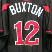 Byron Buxton Game Used/worn 2017 Rochester Red Wings Jersey Minnesota Twins