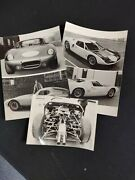1964 Ford Gt Cobra Gt Shelby Roadster And Daytona Coupe German Presskit Rare