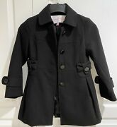 Jessica Simpson Little Girls Dress Coat. Size 7/8. Pre-owned.