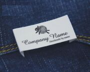 Custom Sewing Garment Label Cotton Tape Width Clothing Wool Sheep Knitting Tags