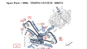 New Ferrari 458 Engine Valve Timing And Pump Drive System 315694