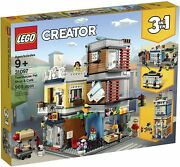 Lego Creator 31097 Townhouse Pet Shop And Cafe 3 In 1 Building New Sealed