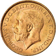 [873696] Coin, India-british, George V, Sovereign, 1918, Bombay, Au, Gold