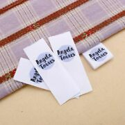 Personalized Tags Custom Clothing Labels Handmade Label Logo Text Cotton Tape
