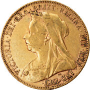 [874509] Coin, Great Britain, Victoria, Sovereign, 1899, London, Ef, Gold