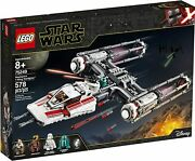 Lego Star Clone Wars 75249 Resistance Y-wing Starfighter Zorii Bliss Poe New