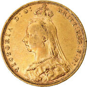 [873735] Coin, Great Britain, Victoria, Sovereign, 1889, London, Ef, Gold